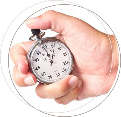 stopwatch-in-hand